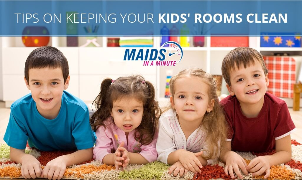 tips on keeping your kids rooms clean