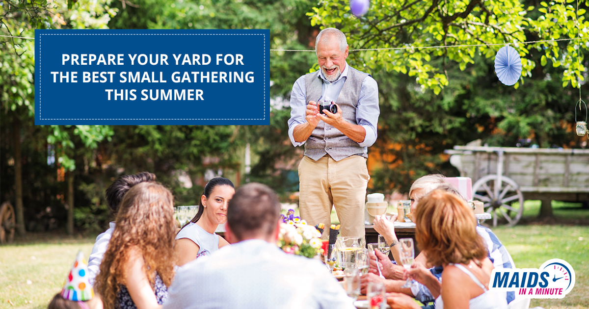 How To Prepare Your Yard for a Small Gathering This Summer