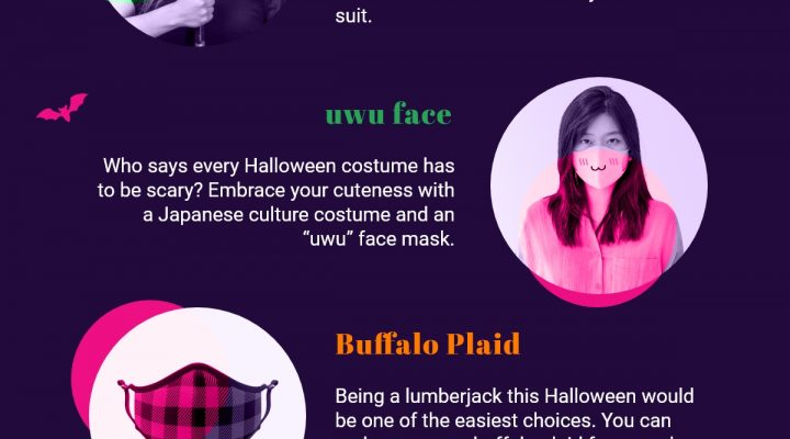 7 Cool Halloween Costume Ideas That Already Include Face Masks