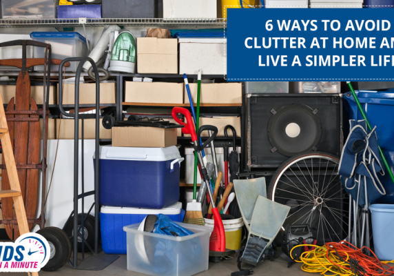 6 Ways To Avoid Clutter At Home And Live A Simpler Life